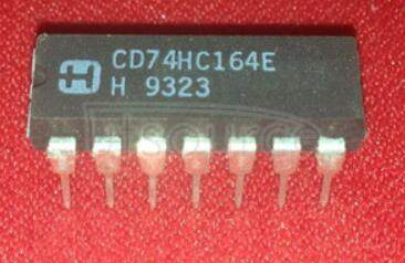 CD74HC164E LM6152/LM6154 Dual and Quad 75 MHz GBW Rail-to-Rail I/O Operational Amplifiers<br/> Package: SOIC NARROW<br/> No of Pins: 8