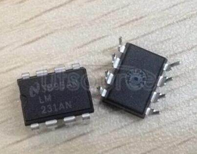 LM231AN Precision Voltage-to-Frequency Converters