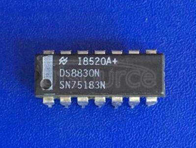 DS8830N DUAL DIFFERENTIAL LINE DRIVERS