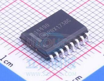 MC14490DWG Hex Contact Bounce Eliminator