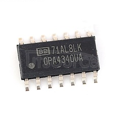 OPA4340UA Single-Supply, Rail-to-Rail Operational Amplifiers MicroAmplifierTM Series 14-SOIC -40 to 85
