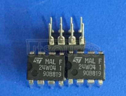 24W04 4 Kbit Serial I2C Bus EEPROM with User-Defined Block Write Protection