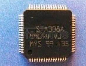 STA308A13TR AUDIO   PROCESSOR  DGTL  64-TQFP