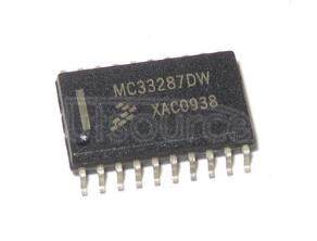 MC33287DW Contact Monitoring and Dual Low Side Protected Driver