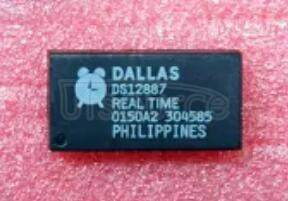 DS12887 DS12887+ REAL TIME CLOCK REAL TIME CLOCK INTEGRATED CIRCUIT CHIP IC