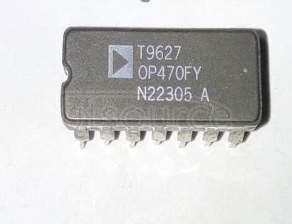 OP470FY Very Low Noise Quad Operational Amplifier