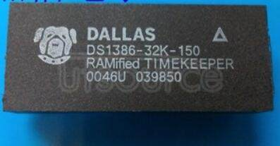 DS138632K150 Nonvolatile Static RAM with a Full Function Real Time Clock RTC,RAM