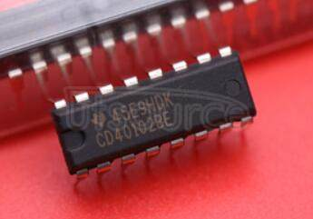 CD40102BE 8-Stage Presettable Synchronous Down Counters2BCD