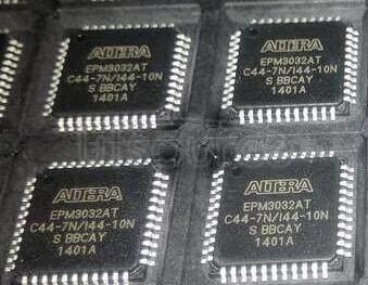 EPM3032ATC44-7N MAX  3000A  CPLD 32  44-TQFP