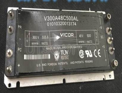 V300A48C500AL DC to DC Converter
