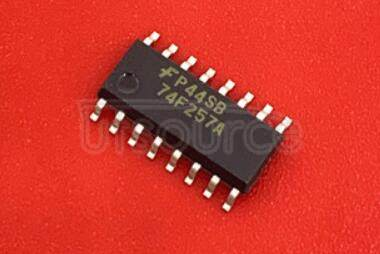 74F257ASC Quad 2-Input Multiplexer with 3-STATE Outputs<br/> Package: SOIC<br/> No of Pins: 16<br/> Container: Rail