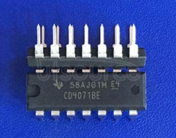 CD4071B Differential Comparator With Strobes 8-SOIC -40 to 85