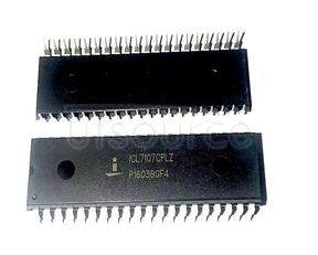 ICL7107CPLZ 3 1/2 Digit, LCD/LED Display, A/D Converters