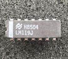 LM119J High Speed Dual Comparator