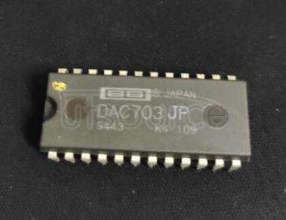 DAC703JP Monolithic 16-Bit DIGITAL-TO-ANALOG CONVERTERS