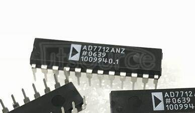 AD7712ANZ CMOS, 24-Bit Sigma-Delta, Signal Conditioning ADC with 2 Analog Input Channels