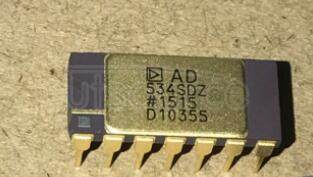 AD534SD Internally Trimmed Precision IC Multiplier