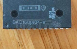 DAC1600KP-V MONOLITHIC 16 BIT RESOLUTION DIGITAL - TO - ANALOG CONVERTER