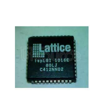 ISPLSI1016-80LJ Electrically-Erasable Complex PLD