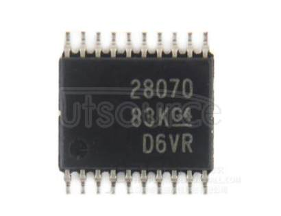 UCC28070PW Two-Phase   Interleaved  CCM PFC  Controller