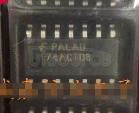 74ACT08SC Quad 2-Input AND Gate<br/> Package: SOIC<br/> No of Pins: 14<br/> Container: Rail