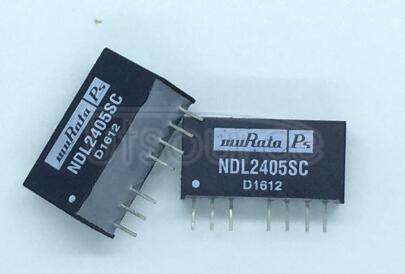 NDL2405SC DC/DC 2W  24VIN   5VOUT  SIP