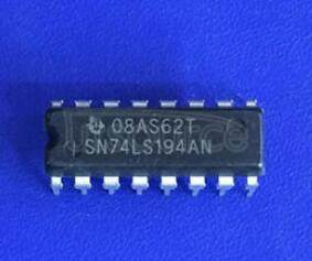 SN74LS194AN 4-BIT BIDIRECTIONAL UNIVERSAL SHIFT REGISTERS