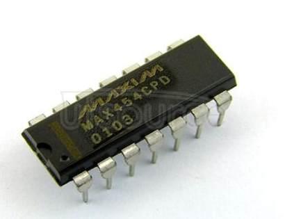 MAX454CPD CMOS Video Multiplexer/Amplifier