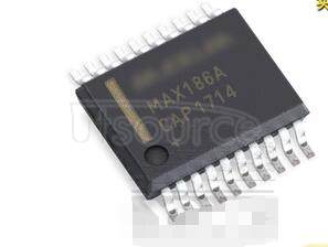 MAX186ACAP Low-Power, 8-Channel, Serial 12-Bit ADCs