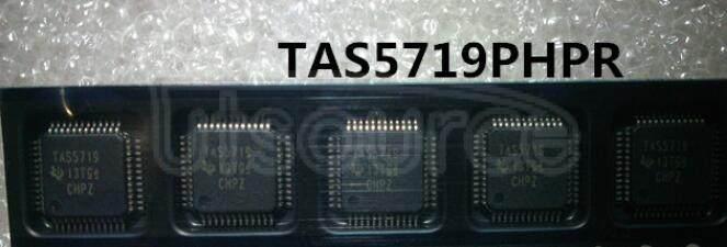 TAS5719PHPR IC AMP CLASS D STER 15W 48HTQFP