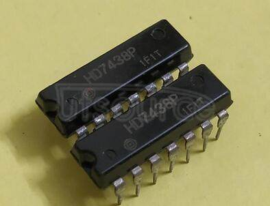 HD7438P Quad 2-input NAND Gate