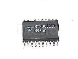 HIP0051IB 0.25A/50V Octal Low Side Power Driver with Serial Bus Control