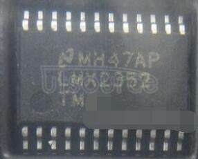 LMX2352TMX/NOPB PLLatinum Fractional N RF / Integer N IF Dual Low Power Frequency Synthesizer
