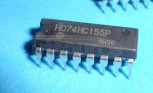 HD74HC155P Logic IC; Function: Dual 2-to-4 line Decoder/Demultiplexer; Package: DIP