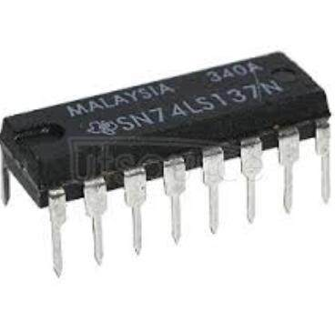 SN74LS137N 3-LINE TO 8-LINE DECODERS/DEMULTIPLEXERS WITH ADDRESS LATCHES