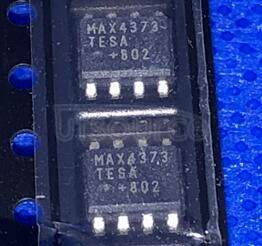 MAX4373TESA Low-Cost, Micropower, High-Side Current-Sense Amplifier Comparator Reference ICs