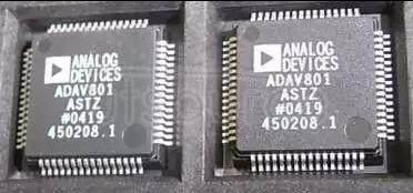 ADAV801ASTZ IC CODEC AUDIO R-DVD 3.3V 64LQFP