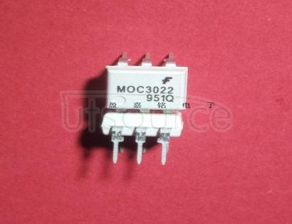 MOC3022 non-zero-crossing triacs