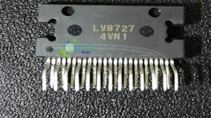 LV8727-E Bipolar Motor Driver BiCDMOS Parallel 25-HZIP