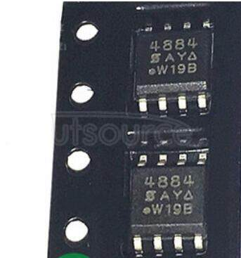 SI4884DY Single N-Channel Logic Level PWM Optimized PowerTrench MOSFET
