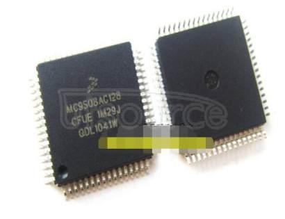 MC9S08AC128CFUE 128K  FLASH  8K RAM  64-QFP