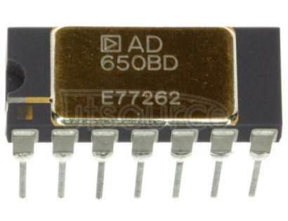 AD650BD Voltage-to-Frequency and Frequency-to-Voltage Converter