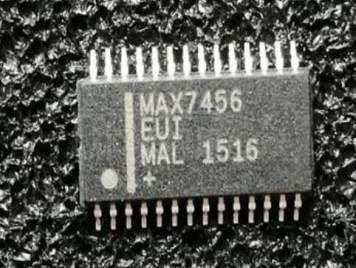 MAX7456EUI+T