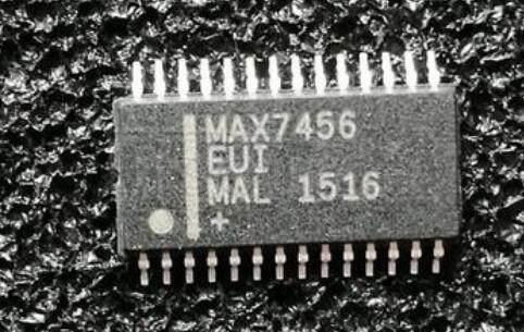 MAX7456EUI+T IC DISPLAY 1CH W/EEPROM 28TSSOP