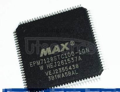EPM7128STC100-10N MAX 7000 CPLD 128  100-TQFP