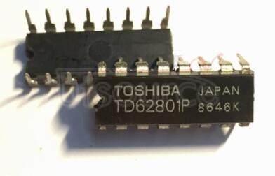 TD62801P 8BIT SHIFT REGISTER/LATCH/DRIVER