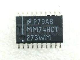 MM74HCT273WM Octal D Flip-Flop with Clear; Package: SOIC-Wide; No of Pins: 20; Container: Rail