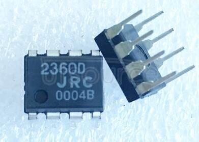 NJM2360D DC/DC CONVERTER CONTROL IC