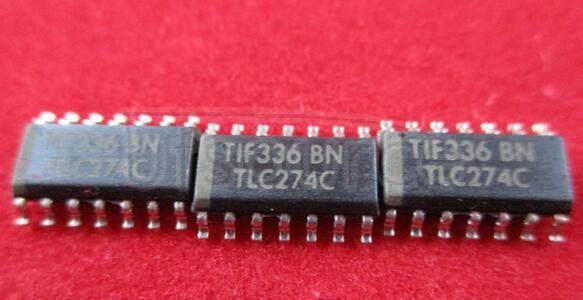 TLC274 Quad Single Supply Operational Amplifier