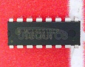 MC14551BCPG Quad 2&#8722<br/>Channel Analog Multiplexer/Demultiplexer